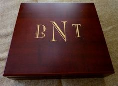 Personalized Humidor Custom Engraved School Logo - Cherry Finish, 20 Cigar…