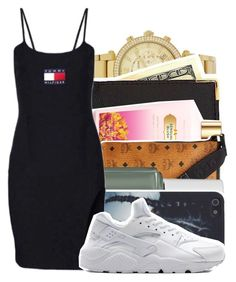 Untitled #66 by theoneandonlylexi on Polyvore featuring polyvore, fashion, style, Royce Leather, MCM, Michael Kors, Victoria's Secret, Essie and NIKE