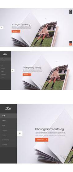 Flat portfolio by Arian Selimaj via Behance http://www.behance.net/gallery/Flat/7832257