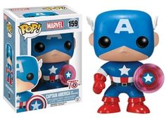 75th Anniversary Captain America with Photon Shield Exclusive Pop Marvel Vinyl…
