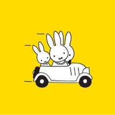 Miffy is often the third wheel. Book Cover Design, Book Design, Art Wall Kids, Art For Kids, Mellow Yellow, Bright Yellow, Miffy, Cool Animations, Drawing For Kids
