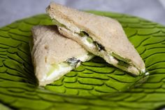 Mint-Cucumber Sandwiches: Make these sandwiches, put on some tea and invite some friends over!