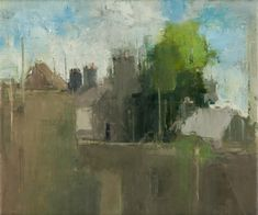 Stuart Shils - Ballycastle Rooftops, 2006, oil on canvas
