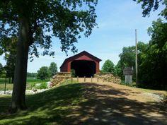 Historical covered bridge
