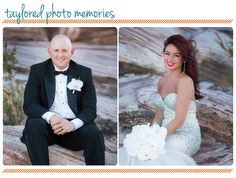 Just because you plan to wed in a Las Vegas chapel doesn't mean you can't still get awesome images! Post Wedding Session   Las Vegas Elopement   Aria Chapel   Red Rock Canyon