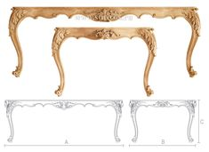 Manufactures of wood furniture and interiors underline that they use Stavros carved decor in their product. Our décor makes the products unique and demanded. Wood Furniture Legs, Cane Furniture, Furniture Plans, Furniture Design, Oak Table, Table Legs, Wood Tables, Wooden Sofa Designs, French Provincial Furniture