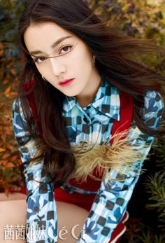 Actress Dilraba Dilmurat poses for fashion magazine | China Entertainment News