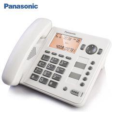 松下电话机 KX-TS398CN 座机电话机 办公家用 固定电话  来电报号