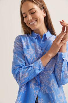 Briar Silk Cotton Shirt | Shirts | Sportscraft