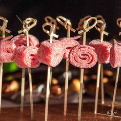 Brochettes bonbons pour anniversaire d'enfant et Candy Bar - Dispo sur www.usineabonbons.com