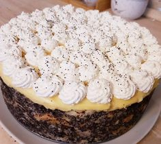My Recipes, Cooking Recipes, Winter Food, No Bake Cake, Mango, Cheesecake, Food And Drink, Pie, Sweets
