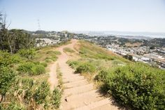 Mount Davidson. SF's highest peak, with, dare I say, better views than Twin Peaks.