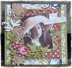 Card with stansjes Noor Design