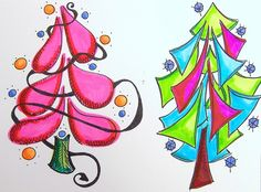 tree doodles | Flickr - Photo Sharing!