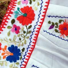 Mexican Embroidered Traditional Dress for Girls Size 6 / 8