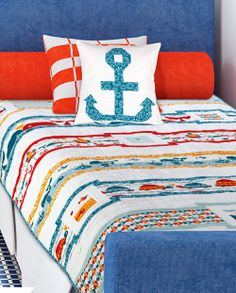 Love at Sea by Melissa Lunden (from Quilt Trends Magazine Spring 2014)