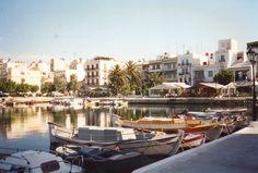 Agios Nikolaos, Crete ... special place in my heart ... Olga I miss you