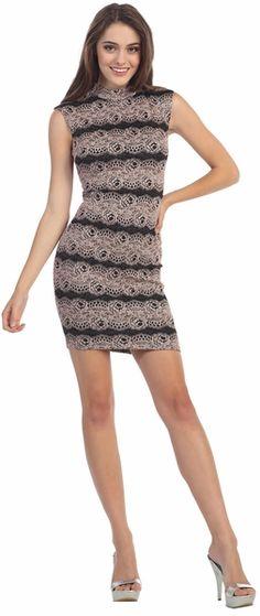 Sexy Short Sheath Cocktail Dress #discountdressshop #sexy #cocktail #minidress
