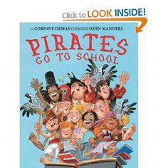Collection of pirate books and free activities to download..kinder