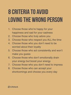 Love Yourself Enough To Choose The Right Person #Motivation