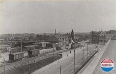 Station Heerlen (jaartal: 1930 tot 1940) - Foto's SERC Paris Skyline, Holland, Dutch, Louvre, History, Building, Trains, Industrial, The Nederlands