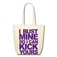 $17 Bags  ~ Small Tote Bag ~ Kick ass Tote