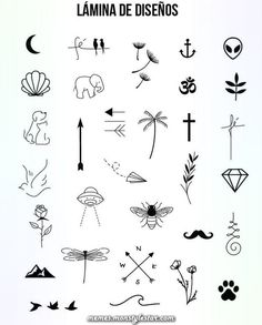 Absolutely fantastic free minimalist Tattoo Tips, - - With very little ink and simple strokes and thin, minimalist tattoos have durante stern wind lately. Far from the big tattoos taking a body part, these small tattoos are . Mini Tattoos, Little Tattoos, Cute Tattoos, Body Art Tattoos, Small Tattoos, Tatoos, Tattoos For Women Small, Small Tattoo Symbols, Small Finger Tattoos