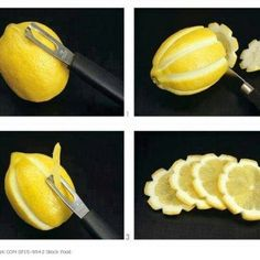Fancy lemon slices to add to your lemonade.