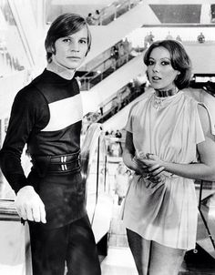 Michael York and Jenny Agutter | Logan's Run | 1976