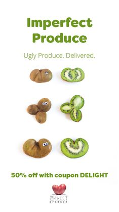 Imperfect would like to offer you 50% off your first box of produce with the PROMO code DELIGHT. Get started now to customize your box with only the produce you want, delivered to your doorstep, to eat healthy, to save more with produce 30%-50% cheaper than grocery stores, and to join us in our mission to reduce food waste!