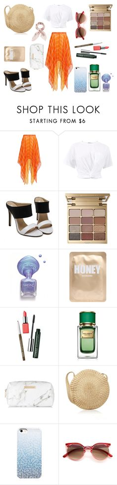 """* I'M ONLY HAPPY IN THE SUN by bOO *"" by boo-sandra on Polyvore featuring Roopa, T By Alexander Wang, Stila, Lapcos, Clinique, Dolce&Gabbana, Spectrum and Manipuri"