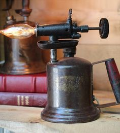 Vintage Glowtorch Lamp | Collections Vintage Finds | Eastchester & Orange | Scoutmob Shoppe | Product Detail