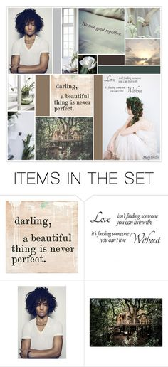 """""""darling, a beautiful thing is never perfect"""" by mcheffer ❤ liked on Polyvore featuring art, collages, artexpression and MatchWorkCollageArtGroup"""
