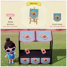 custom design codes for acnl/acnh. Animal Crossing Villagers, Animal Crossing Qr Codes Clothes, Animal Crossing Game, Animal 2, Animal Games, Motif Acnl, Motifs Animal, New Leaf, Custom Design