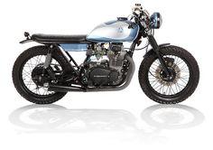 Kawasaki KZ400 Street Tracker by Analog Motorcycles #streettracker #motos | caferacerpasion.com