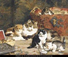 Charles Van Den Eycken (Bélgica,1859-1923). A taste for treasures