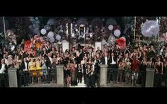 A scene from the upcoming Baz Luhrmann film, The Great Gatsby.