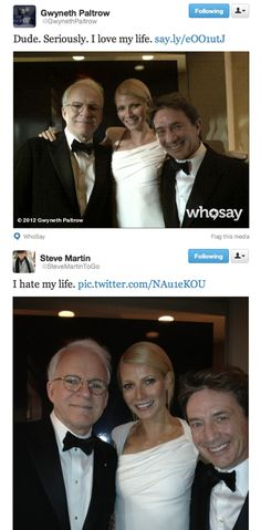 Steve Martin is seriously amazing. Incredible actor and writer. Check out his books.