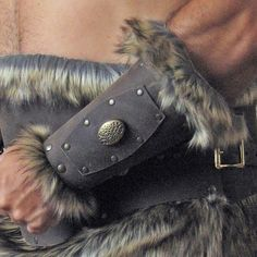 """Medieval Celtic Viking Barbarian Bracers by MorganasCollection, via Etsy. Part of my """"Sword and Sorcery"""" Treasury: http://www.etsy.com/treasury/Njc0NDA2NXwyNzIwODcyNTcx/sword-and-sorcery"""