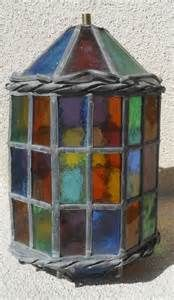 Glass lanterns, Stained glass and Lanterns on Pinterest