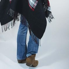 Wintertrend Poncho Look