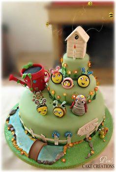 el pastel de la colmena - Pastel de Pamela Iacobellis