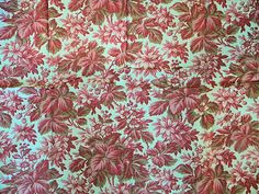 Beautiful Antique French Cotton Quilt or Pillow Fabric by RuinsCa, $59.00
