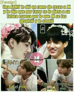Lo dice el ttulo amigo :v # Humor # amreading # books # wattpad Memes Bts Español, Vkook Memes, Funny Memes, Foto Jungkook, Foto Bts, Bts Suga, Jikook, About Bts, I Love Bts