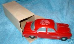 1951 Dodge Coronet 4 Door Sedan Banthrico promo model