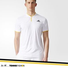 Adidas London Men's Tennis Polo #adidas #tennis #tennisgear #tennisapparel #tennisfashion #fashion