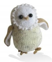 Boris the Barn Owl knitting pattern by Amanda Berry