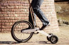 Halfbike では、ジョギングとサイクリングの中間の体験を得られます