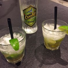 the right drink  to close down the day. #the_real_ironfinger #axelritt #caipirinha #drinks #ice #crushedice