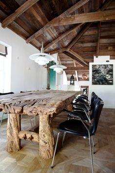 mesa super rustica